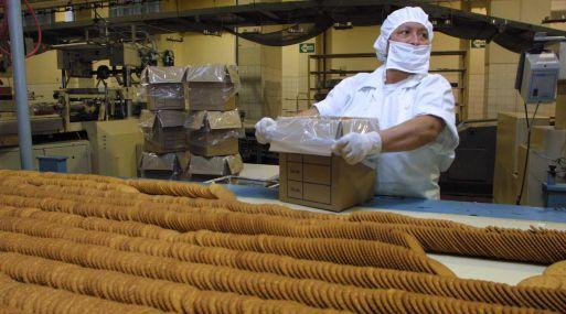 Pastelería industrial y la galletería