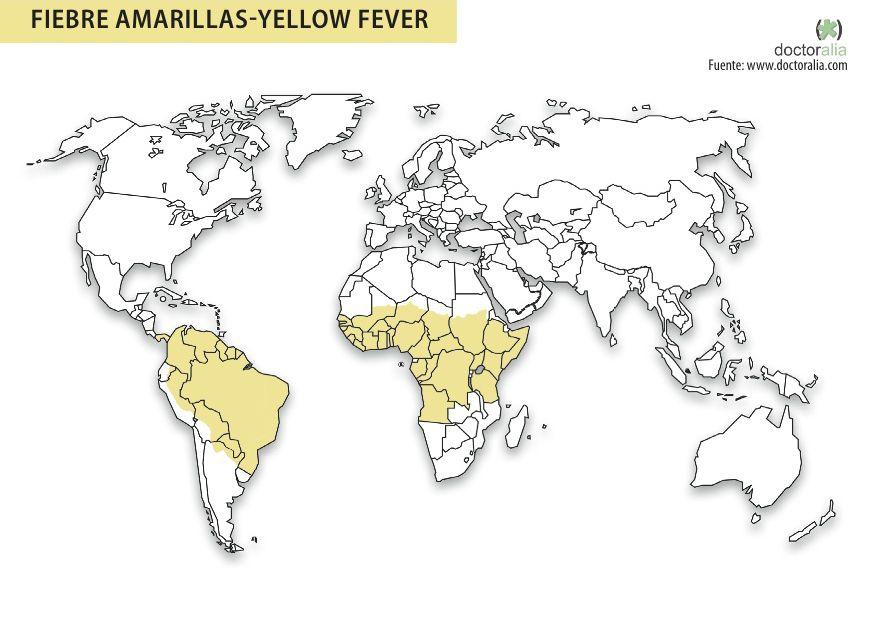 """¿Viajas a un destino exótico? Considera este """"mapa de vacunas"""""""