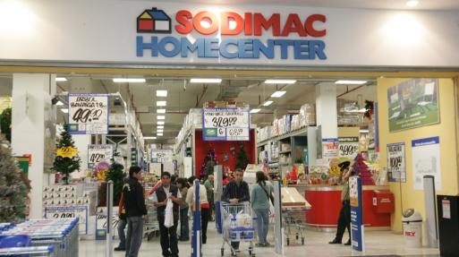 Se recompone el mercado de home centers sodimac tiene el for Sodimac terrazas chile