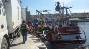 Produce intervino a tres embarcaciones que transgredieron las cinco millas para pescar