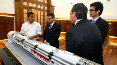 Ollanta Humala sostuvo reunión de trabajo con miembros del Consorcio Metro de Lima - Línea 2