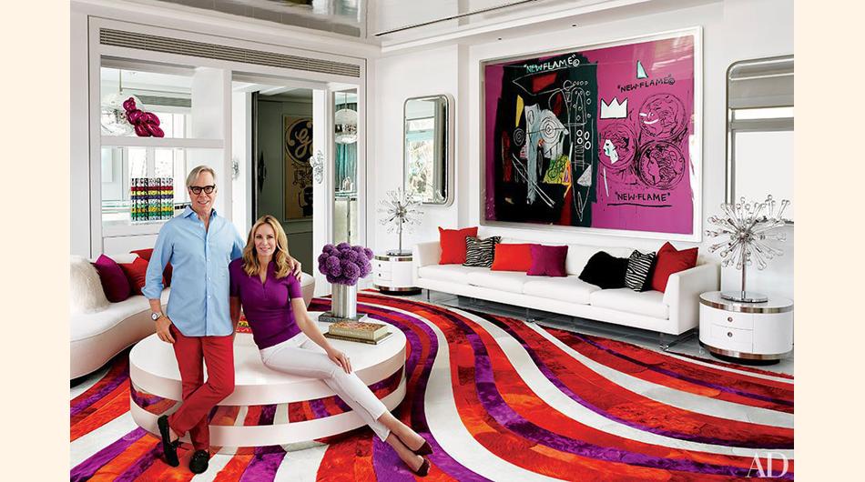 Conozca el interior de la lujosa villa del dise ador tommy for Muebles modernos en miami florida