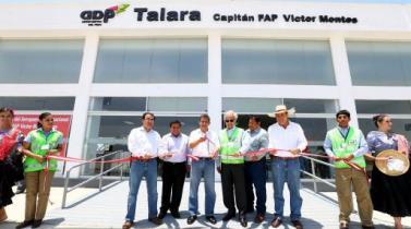 Moderno aeropuerto en Talara demandó una inversión de S/. 11 millones