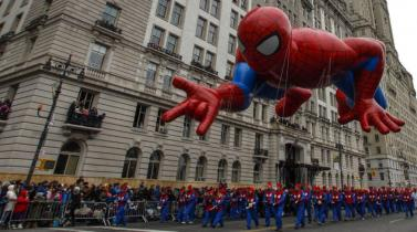 Nueva York: la fantasía en el desfile de Macy's por el Día de Acción de Gracias