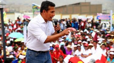 Ollanta Humala: Ruido político no distraerá trabajo del Gobierno