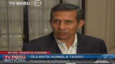 Ollanta Humala canceló su viaje a Costa Rica para ocuparse de tareas locales