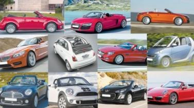 Autos convertibles, las estrellas del verano
