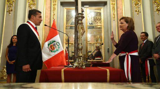 Rosa María Ortiz se convirtió en la primera mujer en ocupar el Ministerio de Energía y Minas.