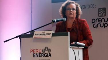 El eje central de la visión a largo plazo, dijo la ministra, gira en torno a la consolidación de la matriz energética.
