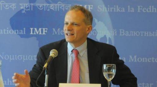 El director del Departamento del Hemisferio Occidental del FMI, Alejandro Werner, presentó el estudio en Chile.