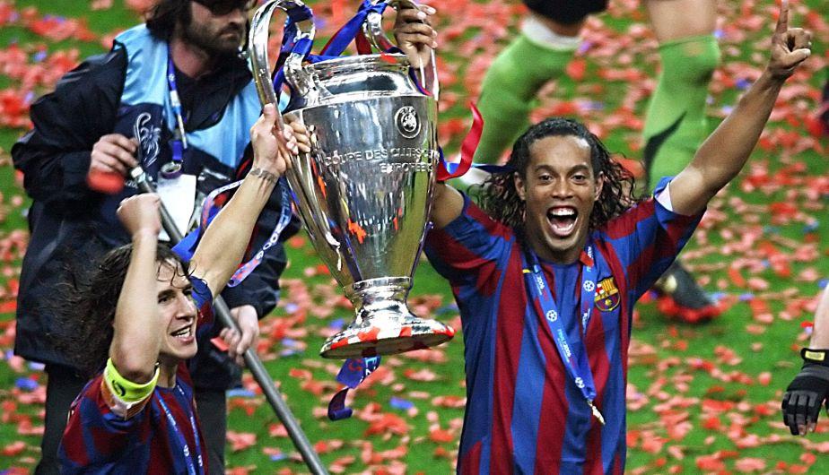 2005 2006 campe 243 n barcelona afp score 2 1 el barcelona de espa 241 a