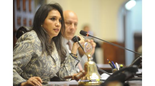 Ana María Solórzano, presidenta del Congreso. (Foto: Congreso)