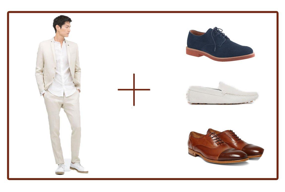 Hombre a la moda qu color de zapatos va mejor con tu traje for Que color asociar con el gris claro