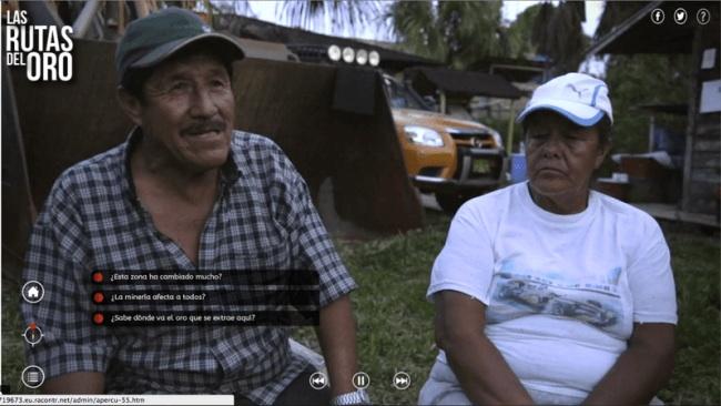 Las Rutas del Oro: primer webdocumental sobre la minería ilegal en la Amazonía ya está disponible