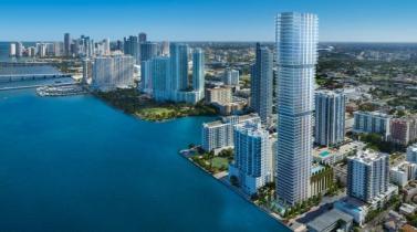 Elysee Residences tendrá 100 departamentos de súper lujo en Miami.