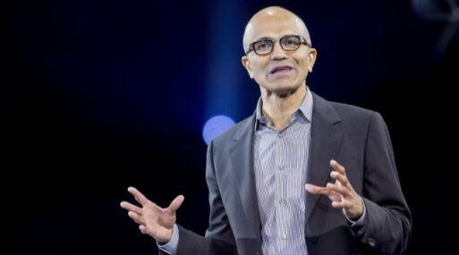 Satya Nadella, presidente ejecutivo de Microsoft.