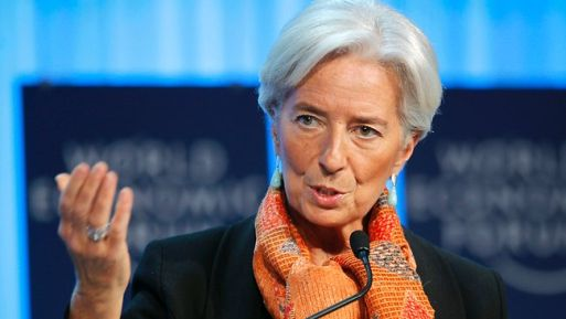 Lagarde has reiterated the IMF's view that the Fed has scope to leave the benchmark policy rate near zero.