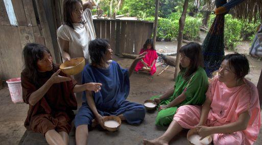 El hambre acecha a la tribu de 97,000 miembros en la selva amazónica. (Foto: AP)