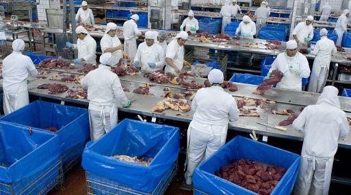 El mayor productor de carne del mundo JBS. (Foto: Bloomberg)
