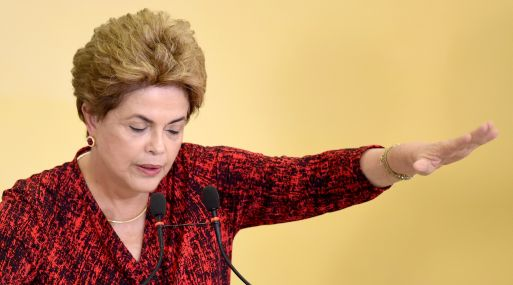 Dilma Rousseffe, presidenta de Brasil. (Foto: AFP)