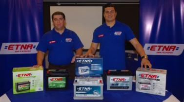 <b>Baterías ETNA.</b> Ingresa a Chile y Costa Rica con línea de tecnología Libre Mantenimiento