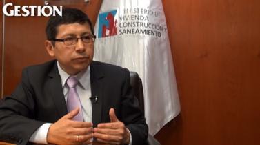 """Edmer Trujillo: """"Hay que mejorar el servicio de agua para poder cobrarle a los usuarios"""""""