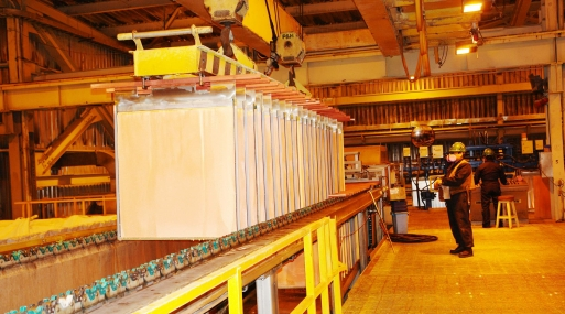 El cobre referencial en la Bolsa de Metales de Londres subía un 0.7% a 4,812 dólares la tonelada.