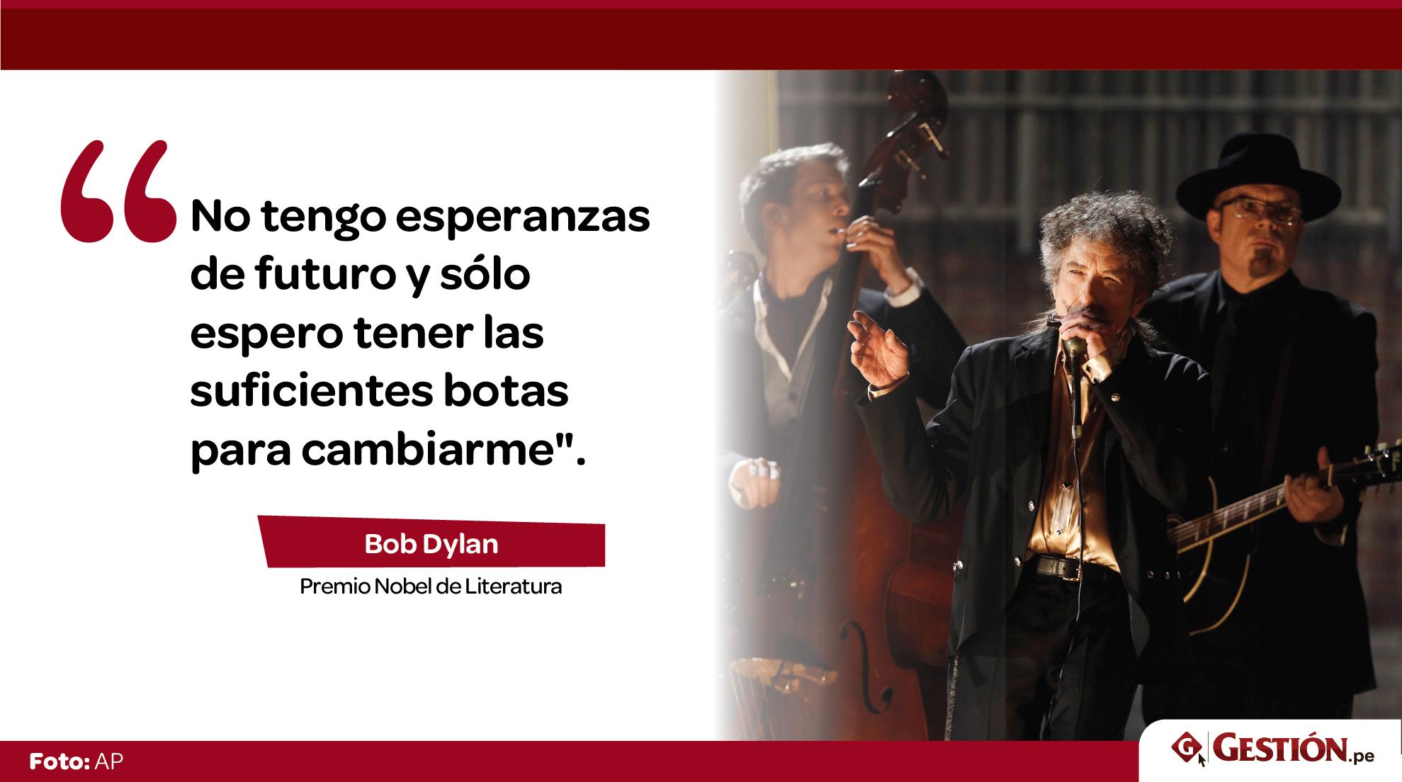 Bob Dylan: 20 frases que reflejan el alma y sentimientos del flamante Premio Nobel de Literatura