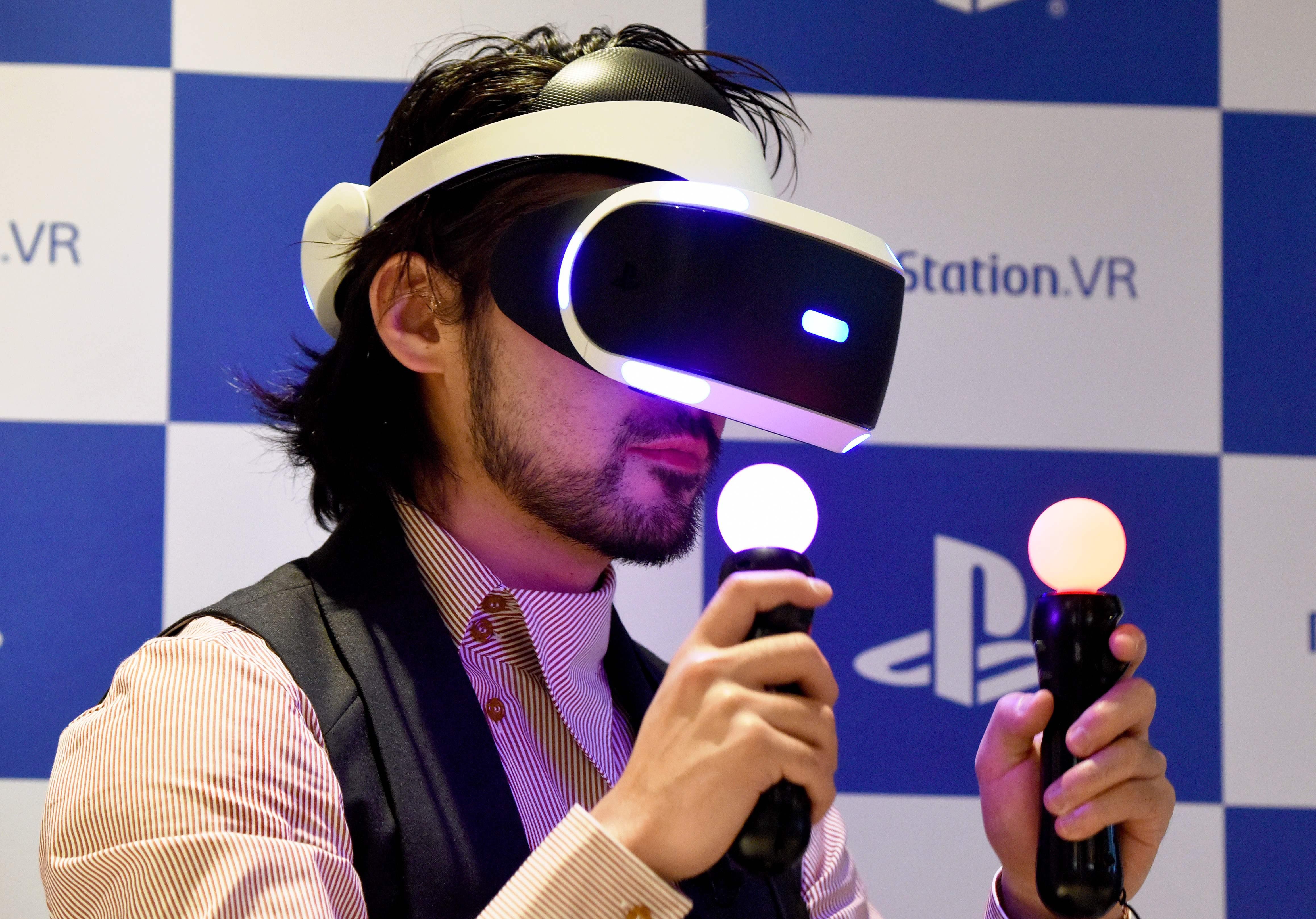 Playstation 4, realidad virtual, gafas de realidad virtual, PSVR