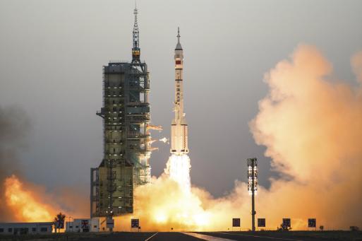 China, Rusia y Estados Unidos son los únicos países que han lanzado seres humanos al espacio sin ayuda de otra nación. (Foto: AP)