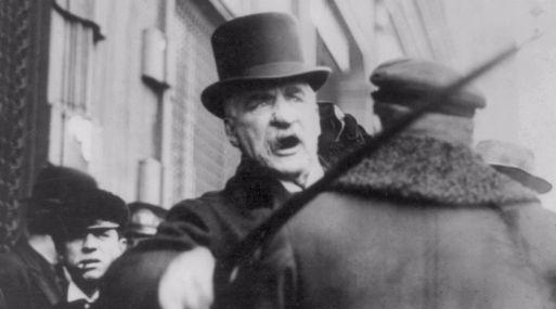 A J.P. Morgan le disgustaba ser fotografiado debido a su rosácea. (Foto: Wikimedia)