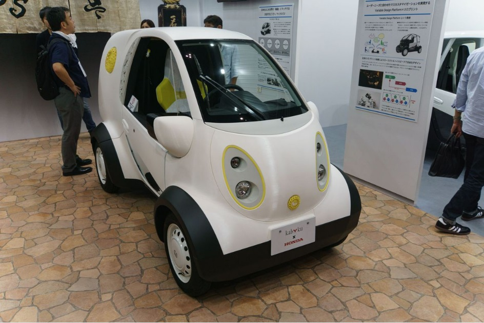 Honda, Automovil, Impresión 3d, Kabucu
