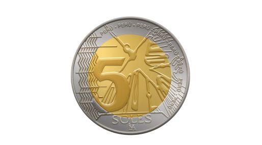Anverso de la nueva moneda lanzada por el BCR. (Foto: Difusión)