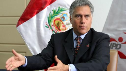 Detienen al ex presidente del IPD — Francisco Boza