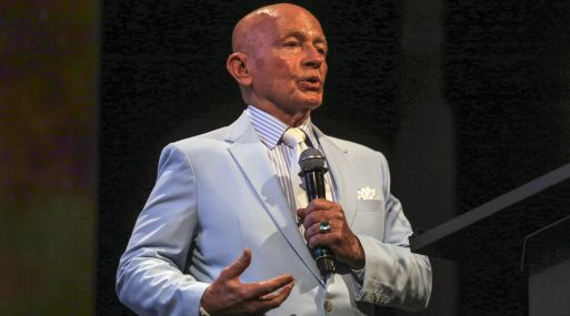 Mark Mobius, presidente ejecutivo de Templeton Emerging Markets Group. (Foto: Bloomberg)