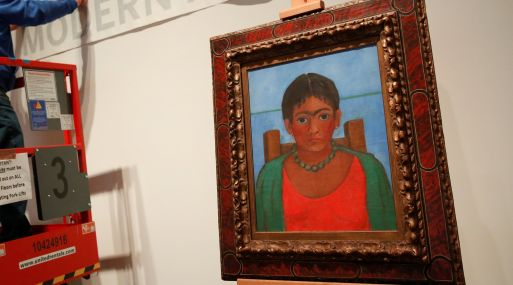 Sothebyapos;s subastará cuadro de Frida Kahlo que lleva seis décadas desaparecido
