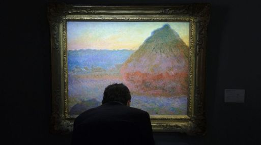 'Meule' de Claude Monet. (Foto: AFP)