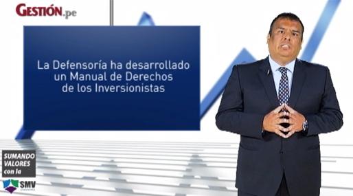 Las acciones educativas desarrolladas desde la Defensoría del Inversionista