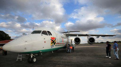 Fotografía del avión de Lamia antes de partir hacia Colombia, donde se estrelló. (Foto:  Reuters)