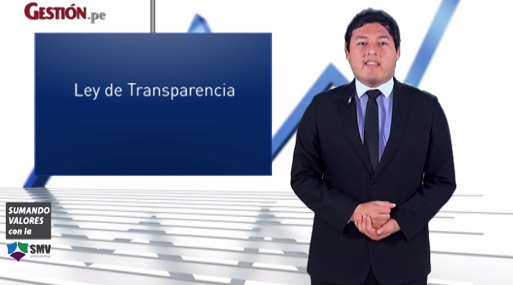 Todo lo que debe saber sobre la Ley de Transparencia