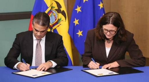 Presidente ratificó el Acuerdo Comercial con la Unión Europea
