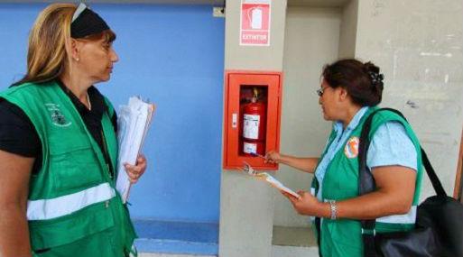 Las inspecciones de Defensa Civil están a cargo de las municipalidades. Foto: Municipalidad de San Isidro.