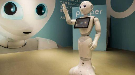 Robot Pepper de Softbank.