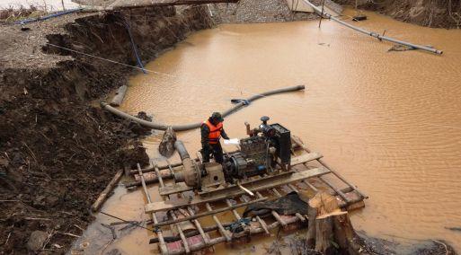 Delito de minería ilegal supondrá pena privativa de libertad de hasta ocho años