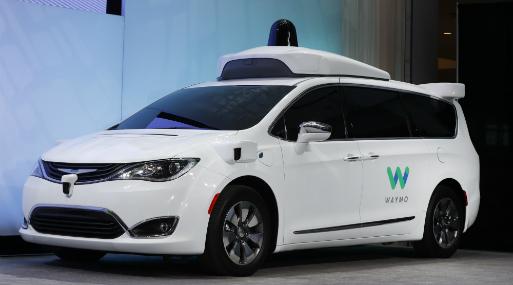 El coche de Waymo, la empresa de vehículos autónomos de Alphabet, compañía paraguas de Google. (Foto: AP).