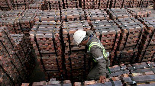 A las 1118 GMT, el cobre a tres meses en la Bolsa de Metales de Londres subía un 1.2%, a US$ 5,655.50 por tonelada.