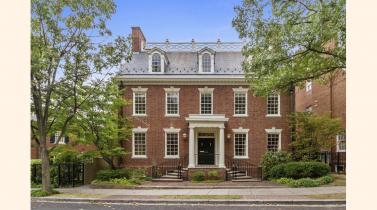 Viva a una cuadra de los Obama y los Trump en esta casa de US$ 5.75 millones