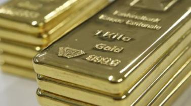 Oro se estabiliza tras anotar mayor caída en más de un mes