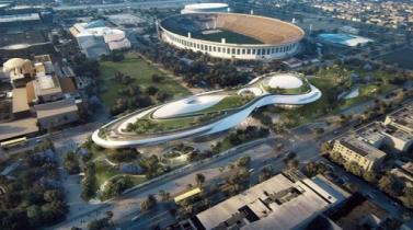 Futurista museo de George Lucas se abrirá en mayo en Los Ángeles