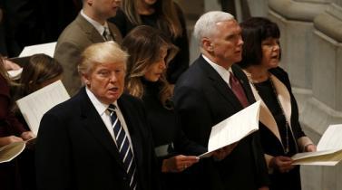Donald Trump se pronuncia de protestas en su contra, tras primer día como mandatario de EEUU